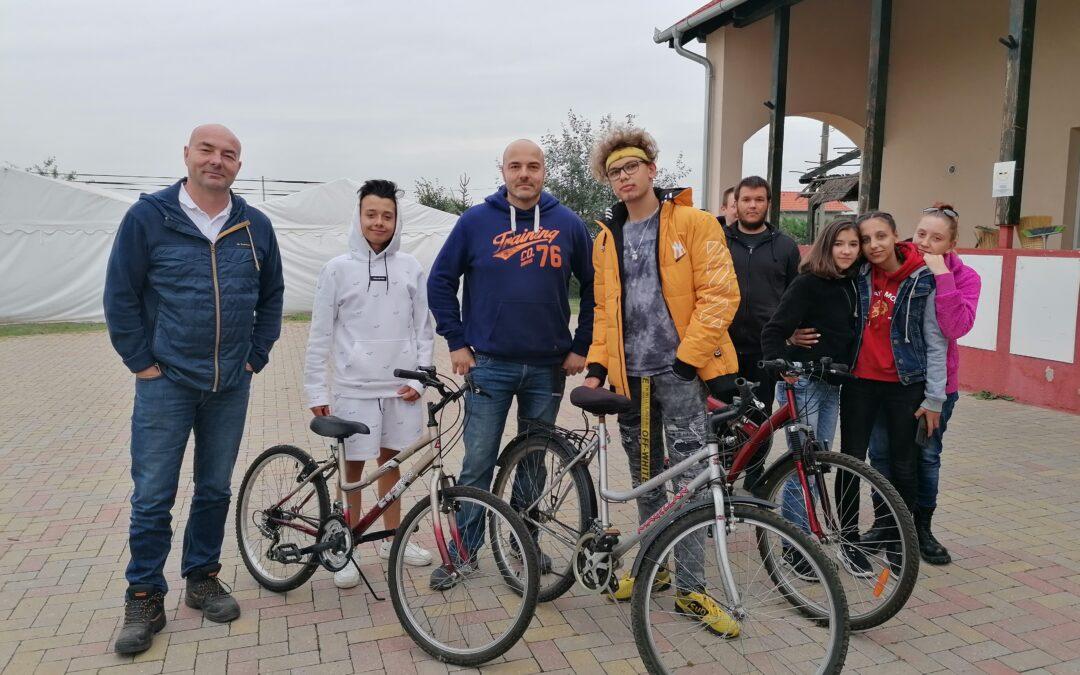 Bicikliket kaptunk! :)